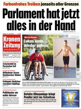 Krone Cover 14.6.2019