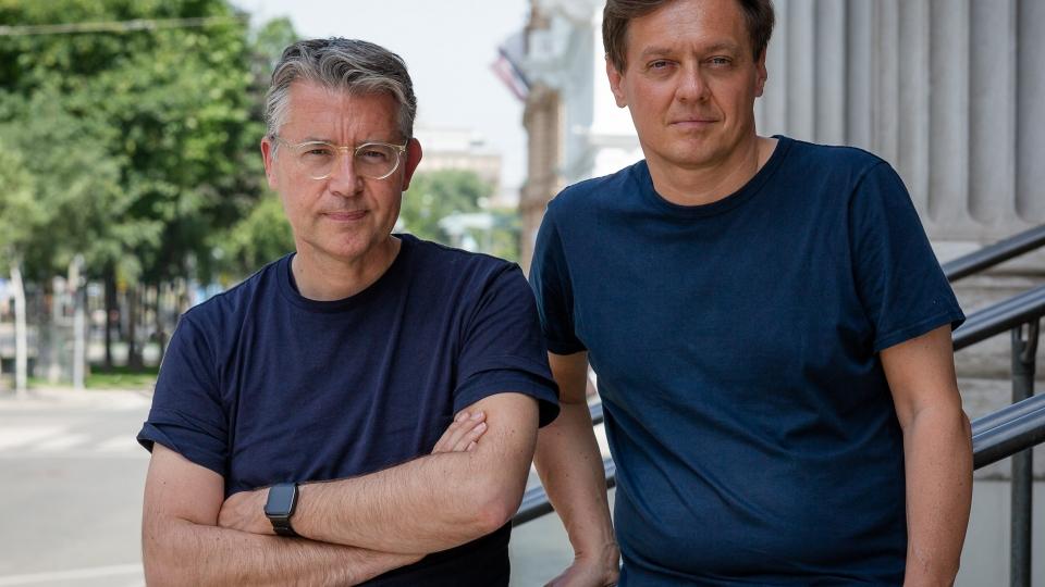 Matthias Schrader und Markus Höfinger