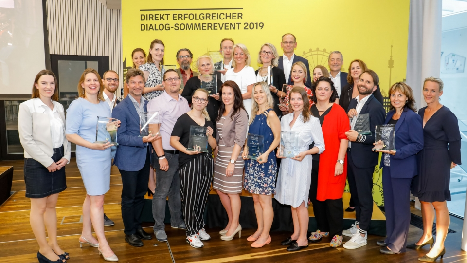 Die Gewinner des Direct Mail Awards 2019 von der Post