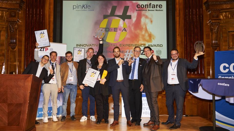 Die Gewinner des Confare IDEAward 2019
