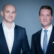 Johannes Gungl und Oliver Stribl, Geschäftsführer der RTR