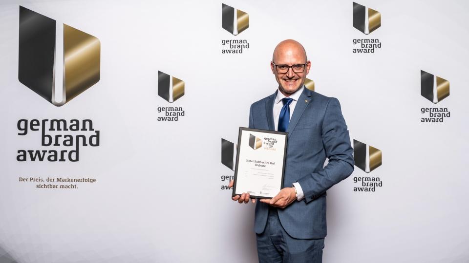 Hansjörg Weitgasser beim German Brand Award