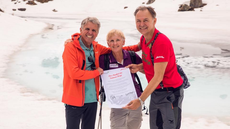 Peter Habeler, Ingrid Hayek, Gerhard Schilling