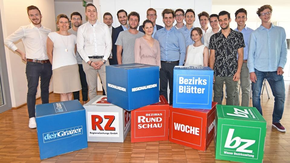 Regionalmedien Austria kooperieren mit Studierenden der Wirtschaftsuniversität Wien