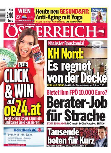 """Österreich – """"Berater-Job für Strache"""""""