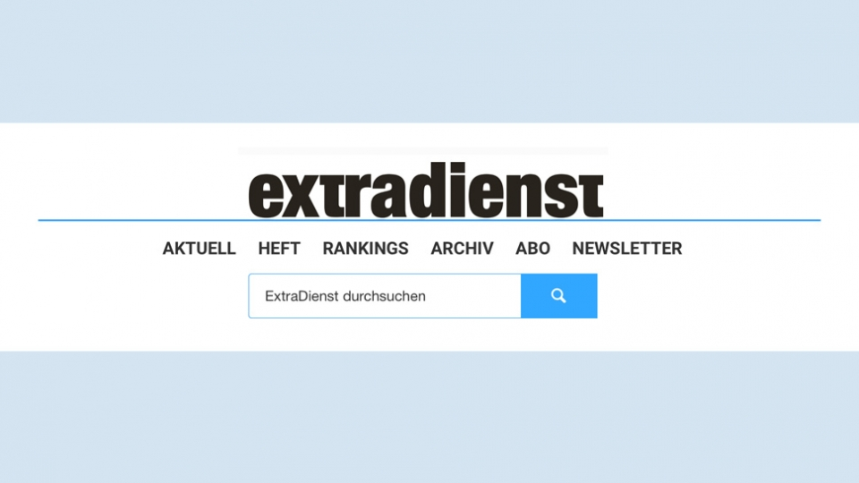 ExtraDienst Webpage neu