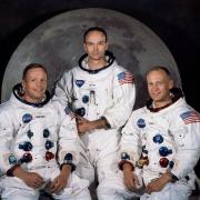 Apollo 11 Crew: Neil A. Armstrong, Michael Collins und Edwin E. Aldrin Jr.