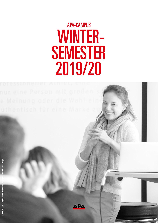 APA-Campus-Wintersemester 2019/20 Programm