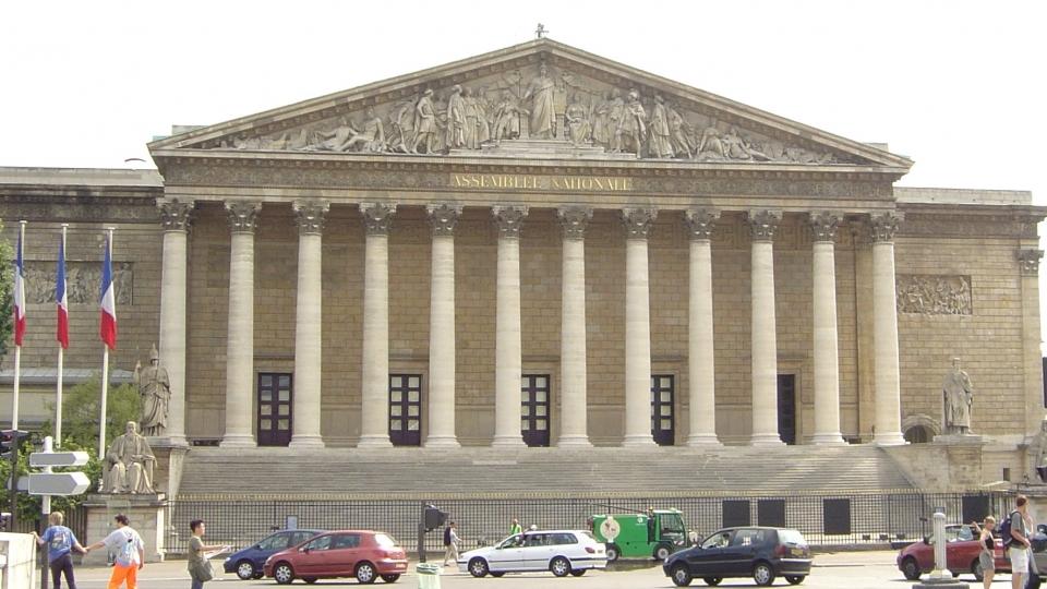 Palais Bourbon - Gebäude der französischen Nationalversammlung