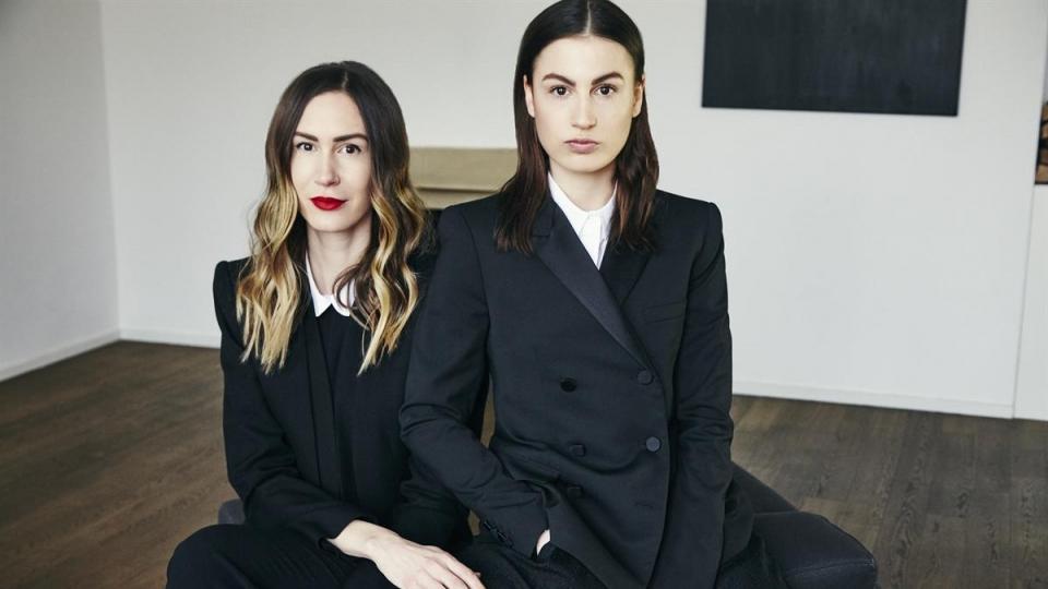 V.l.: Nina und Lisa Haider