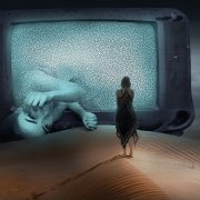 Frau Fernseher