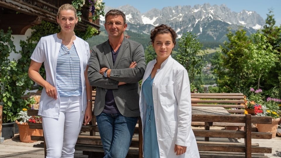 "ORF/ZDF-Serie ""Der Bergdoktor"""