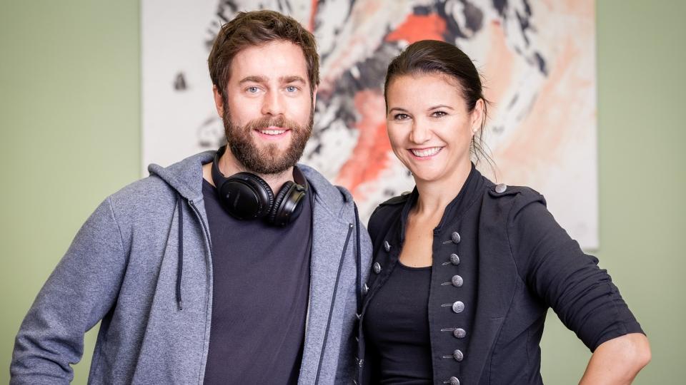 Volume-Geschäftsführer Michael Ledl und styria digital one Prokuristin und Head of Media Sales Marion Stelzer-Zöchbauer