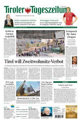 Zeitung Tirol