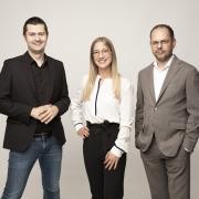 V.l.n.r.: Edin Mustedanagic, Edith Hofer und Gerhard Heidlmair