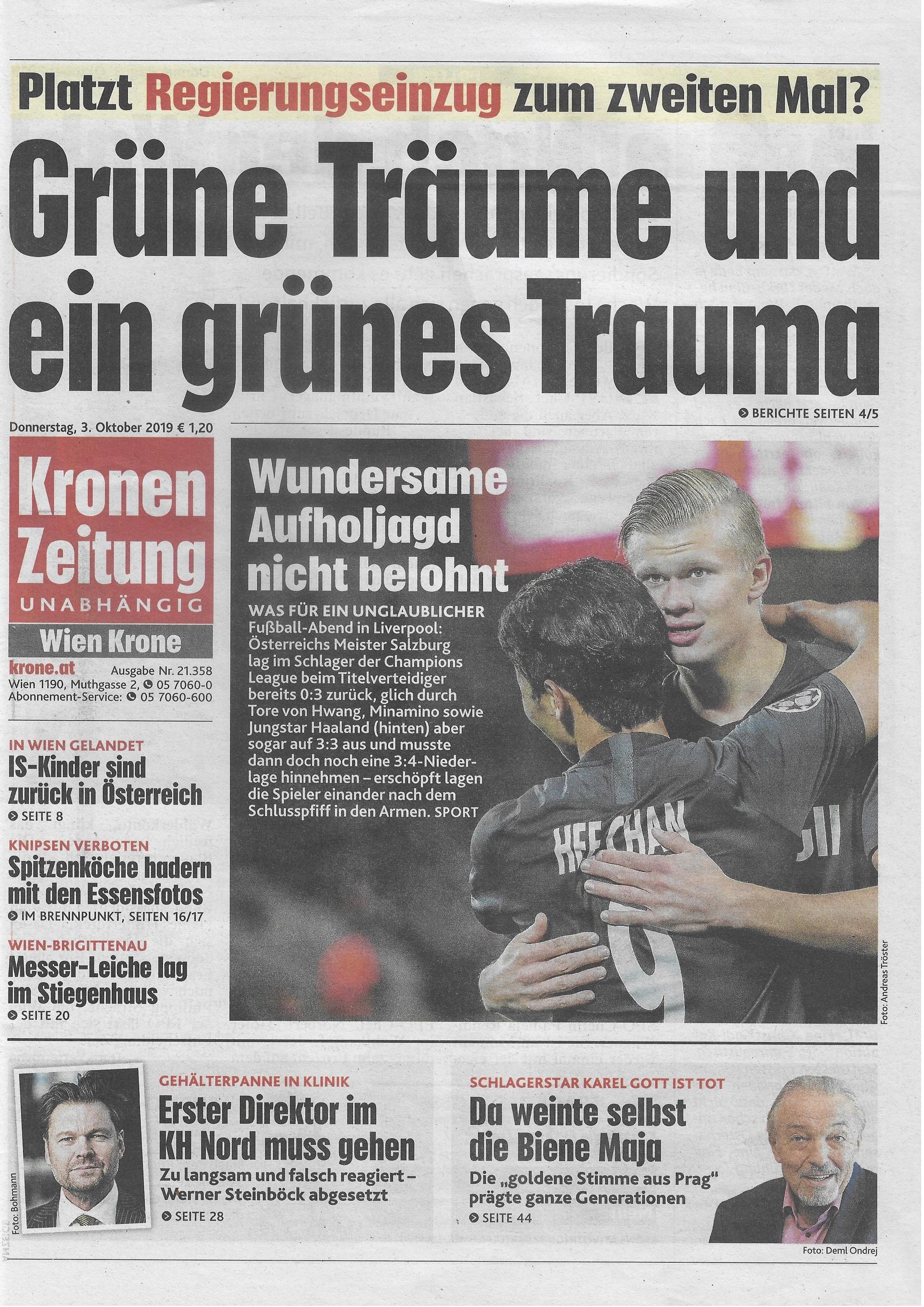 Schlagzeilen Heute Bild Zeitung