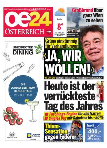 Tageszeitungen österreich
