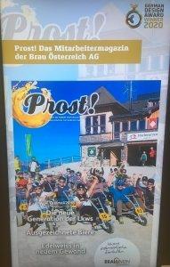 Als 2 Meter große Projektion kann die Prost im Frankfurter Museum für Angewandte Kunst noch bis 23. Februar besichtigt werden. 16. Juni 2021
