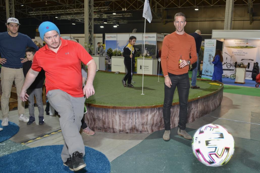 Fußball Golf mit Marc Janko Credit Alex Kramel 16. Juni 2021