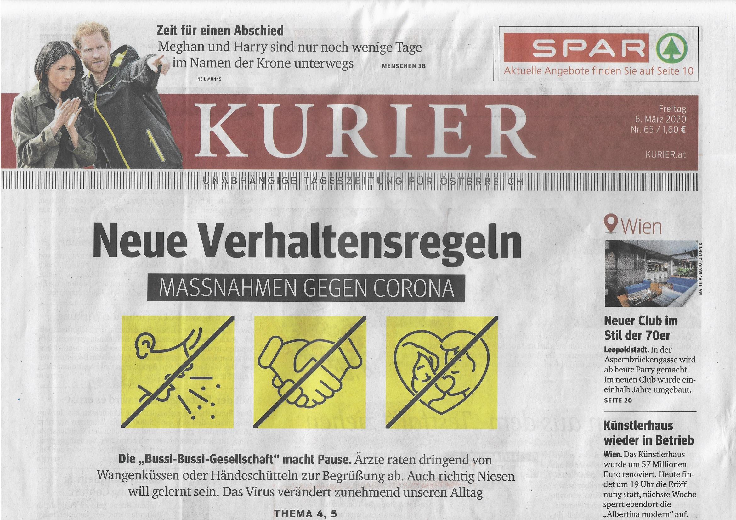 Schlagzeilen österreich