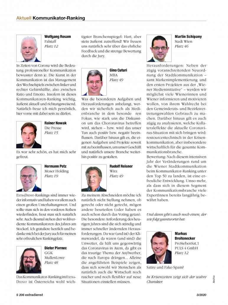 ED 3 20 Ranking Reaktionen NEU 14. Juni 2021