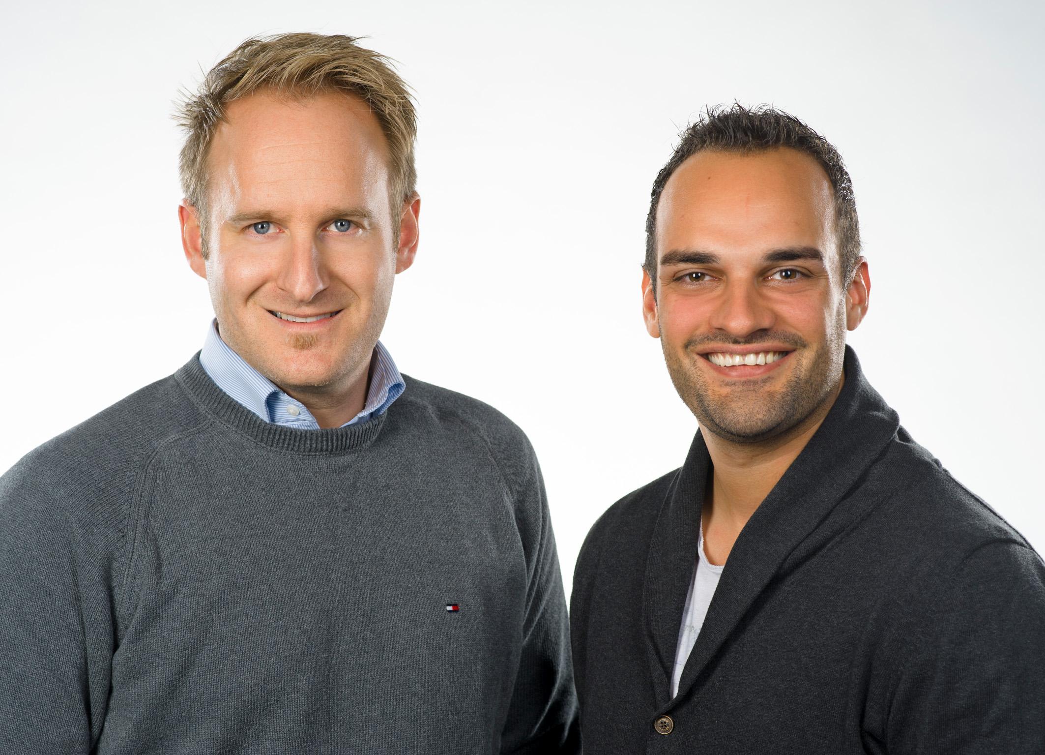KESCH Gr�nder Thomas Kenyeri und Lukas Sch�tz 14. Juni 2021