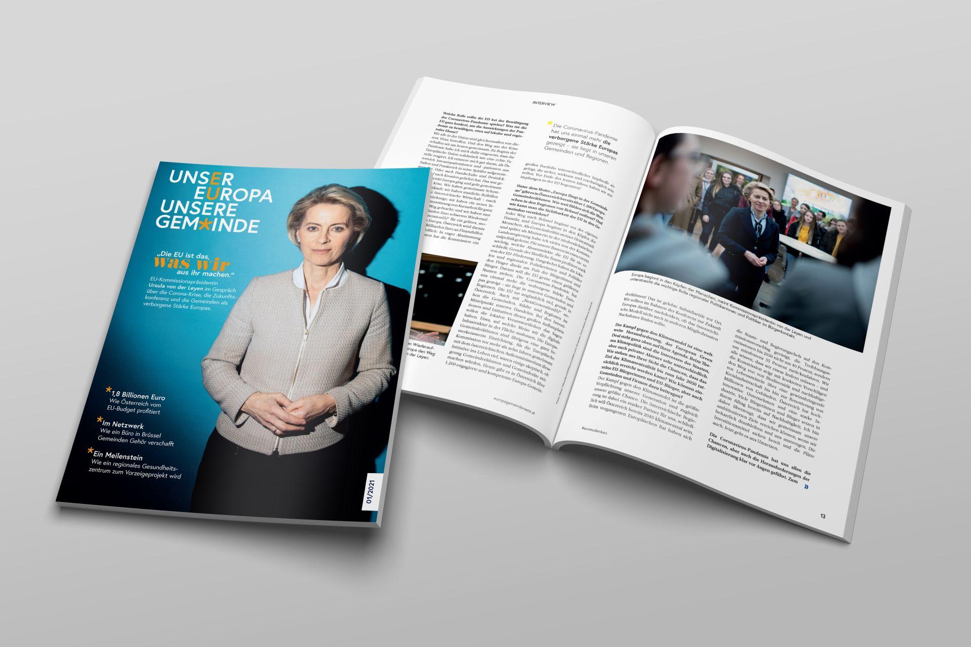 Neues Magazin für Bundeskanzleramt