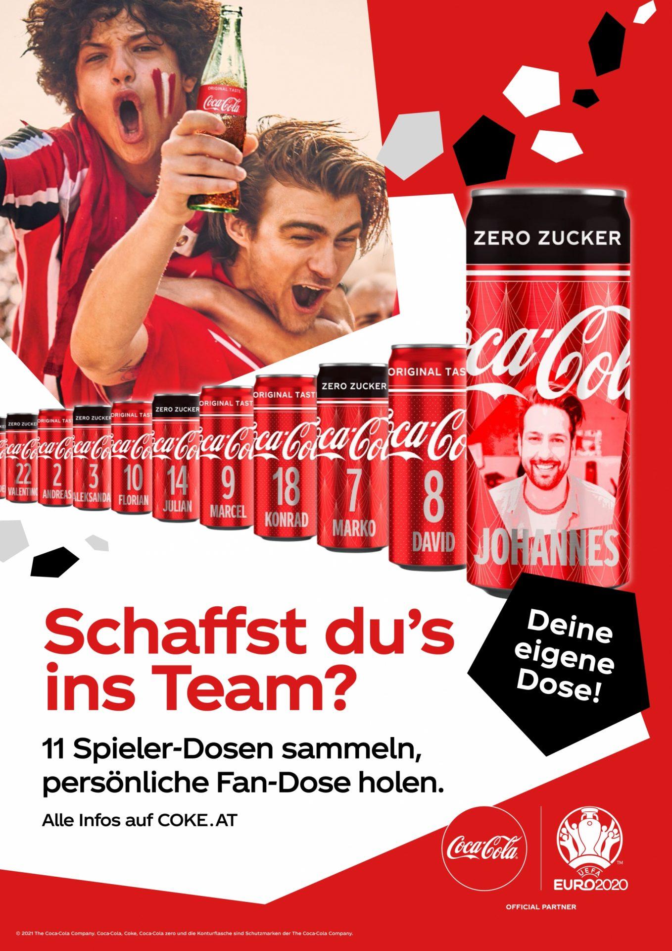 Schaffst dus ins Team Coca Cola Sammeldosen Promotion scaled 17. Juni 2021